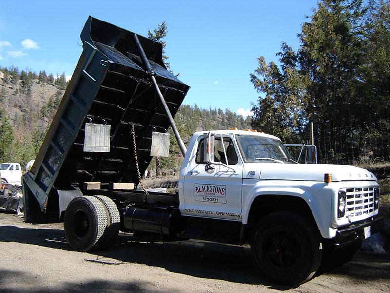 Blackstone Excavation Kamloops excavation experts